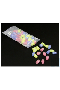 Nunc™ CryoTube™ Verschlusskappen mit Farbkodierung Sterile Case of 2500 Clear Nunc™ CryoTube™...