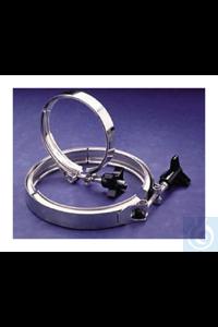 Nalgene™ Heavy-Duty Stainless-Steel Clamps Each Nalgene™...