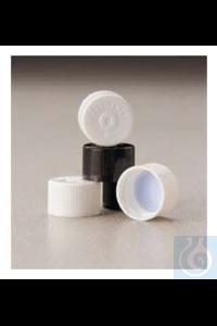 Nalgene™ Verschluss aus HDPE mit Einlage für Serumfläschchen mit...