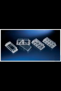 Nunc™ Lab-Tek™ Kammerdeckgläser 4-well Chambered Coverglass w/ non-removable wells Case of 96...