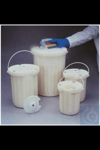 Dewar-Gefäße 1l Case of 4 Dewar-Gefäße Bewahren Sie Proben in flüssigem Stickstoff,...