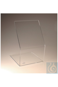 Nalgene™ Acrylic Benchtop Beta Radiation Shield 30cm 61cm Each  46cm Nalgene™ Acrylic...