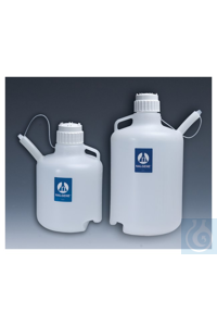 Nalgene™ LDPE Safety Dispensing Jugs with Closure 83B 20L Case of 4 Nalgene™ LDPE...