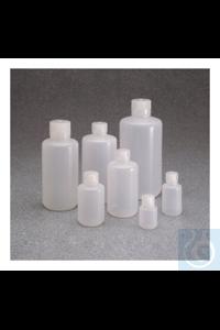 Nalgene™ LDPE-Enghalsflaschen mit Verschluss 500ml Case of 48 28mm Nalgene™...