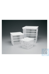 Nalgene™ Polypropylene Autoclaving Baskets 23.9cm 23.3cm 23.9cm Case of 6 Nalgene™...