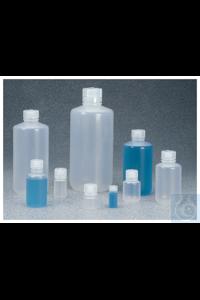 Nalgene™ PPCO-Enghalsflaschen mit Verschluss: Autoklavierbar 30ml Case of 72 20mm Nalgene™...