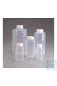 Nalgene™ Teflon™ FEP-Weithalsflaschen mit Verschluss 1l Case of 4 53mm Nalgene™ Teflon™...