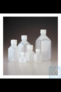 Nalgene™ Quadratische Flaschen (PP) 60mL Case of 72 24mm Nalgene™ Quadratische...