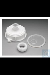 Nalgene™ Verschluss mit Mixerhalterung für geschlossene kuppelförmige Tanks...