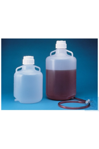 Nalgene™ Autoclavable Polypropylene Carboys with Bottom Tubulation 83B 20L Case of 4...