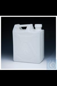 Nalgene™ Strapazierfähige rechteckige HDPE-Ballonflasche 20l Case of 4 70mm Nalgene™...