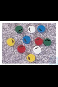 Cryo Vial Closure Color Coders Nunc™ CryoColor Vial Closure Coder, PS Blue Case of 2000...