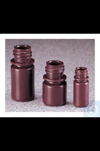 Nalgene™ lichtundurchlässige braune HDPE-Diagnostikflaschen ohne Verschluss: Großpackung,...