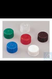 Nalgene™ Colored Polypropylene Closures: Bulk Pack Case of 2000...