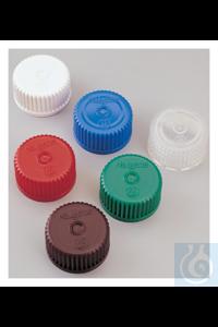 Nalgene™ Colored Polypropylene Closures with 24-415 Finish Case of 1000...