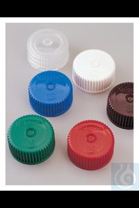 Nalgene™ Colored Polypropylene Closures with 28-415 Finish Case of 500...