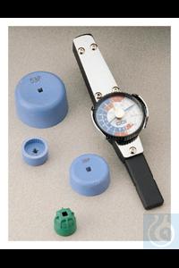 10Artikelen als: Nalgene™ Torque Wrench Fittings for HDPE Closures 20-415mm Each...