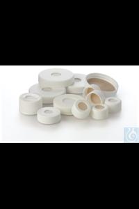 I-Chem™ Open-Top Septa Caps, 24-414mm, bonded septa, bulk Open top...