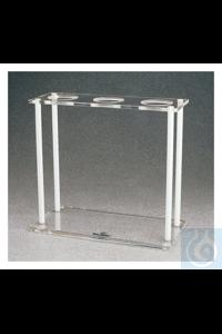 Nalgene™ Acrylic Imhoff Cone Rack Cone Rack Case of 4 Nalgene™ Acrylic Imhoff Cone...