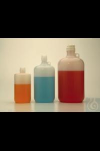 Nalgene™ Large Narrow-Mouth PPCO Bottles with Closure 38-430mm 2L Case of 6 Nalgene™...