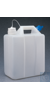 Nalgene™ 13L HDPE Jerrican with Tethered Polypropylene Closure 13 L Case of 4 53B...