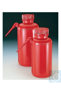 Nalgene™ Unitary™ Red LDPE Safety Wash Bottles 500 ml Case of 4 38 Nalgene™...