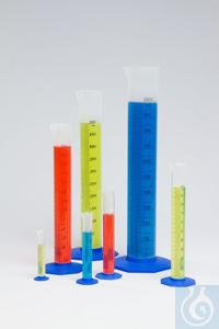 Nalgene™ Kunststoff-Messzylindersortiment Je eine: 10ml, 25ml, 50ml,...