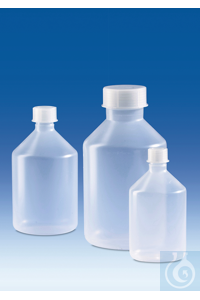 3Artículos como: Reagent bottle, narrow-mouth, PP, with screw cap, PP, 500 ml Reagent bottle,...