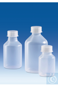 3Artículos como: Reagent bottle, wide-mouth, PP, with screw cap, PP, 250 ml Reagent bottle,...