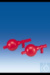 Pipettierball, NR, 3 Ventile, Universalmodell, für Pipetten bis 100 ml