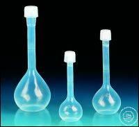 Fiole jaugée, PFA, classe A, avec capsule à vis, PFA, 500 ml