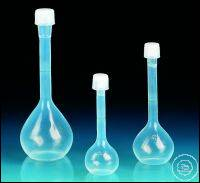 Volumetric flask, PFA, class A, with screw cap, PFA, 500 ml