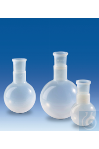 3Panašios prekės Round-bottom flask, PFA, NS 29/32, 100 ml Round-bottom flask, PFA, NS 29/32,...