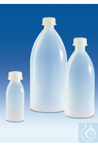3Artículos como: Narrow-mouth bottle, PFA, with screw cap, PFA, 500 ml Narrow-mouth bottle,...