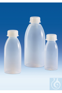 3Artículos como: Wide-mouth bottle, PFA, with screw cap, PFA, 250 ml Wide-mouth bottle, PFA,...