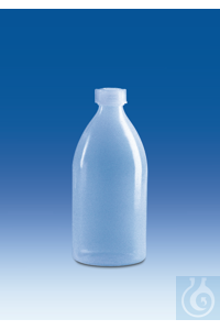 Narrow-mouth bottle, PE-LD, with screw cap, PE-LD,10 ml Narrow-mouth bottle,...