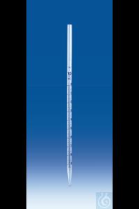 Messpipetten, PP, Saugrohrende Außen-Ø 8 mm, 1 ml