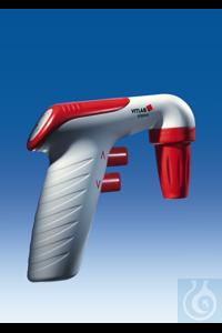 VITLAB pipeo®, auxiliaire de pipetage, type Europa, pour pipettes de 0,1 jusqu'à 100 ml