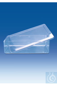 Multi-purpose container, SAN, with lid, SAN, 4000 ml