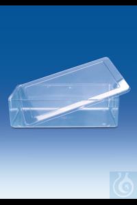 Boîte multi-usage, SAN, avec couvercle, SAN, 4000 ml