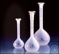 Volumetric flask, PP, class B, with stopper NS 19/26, PP, 250 ml
