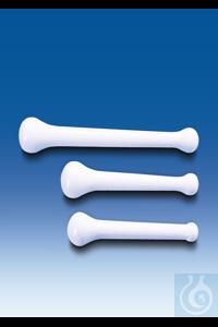 Pistill, MF, weiß, schwere Ausführung, Länge 125 mm