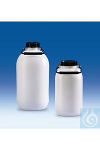 4Artículos como: Storage bottle, PE-HD, without tap, wide-mouth, 5 l Storage bottle, PE-HD,...