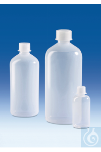 3Artículos como: Narrow-mouth bottle, PE-LD, with screw cap, PP, 500 ml Narrow-mouth bottle,...