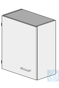 wall cupboard L600/H700 dimension: 600x320x700 mm (LxTxH) one door (hung left) with one...