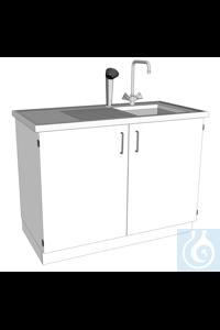 12Artículos como: laboratory sink L1200/T600 PP dimension: 1200x600x900 mm (LxTxH)body...