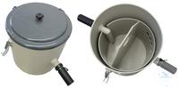 Schlammfangbehälter PP zum Rückhalten von schweren Schwebstoffen im Abwasser. Ideal als...