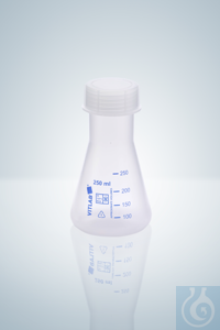 Erlenmeyer flasks, PP, 1000 ml, GL 45, NS 45/40 Erlenmeyer flasks, PP, 1000...