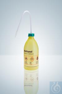 Sicherheitsspritzflasche LD-PE, 500 ml, Methanol Sicherheitsspritzflaschen, LD-PE, 500 ml,...