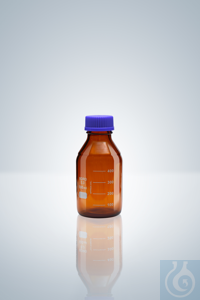 3Artículos como: Frasco de lab., GL 45, vidrio ámbar, 100 ml, altura 100 mm Frasco de...
